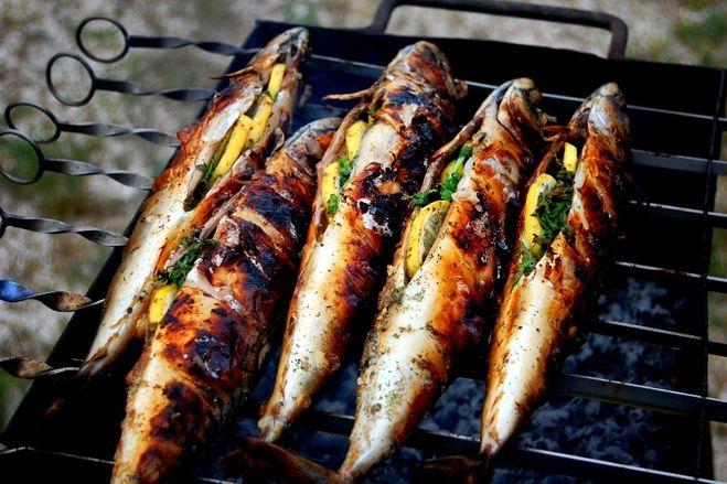 Как приготовить рыбу на барбекю чтобы не прилипало электрокамин для квартиры цена