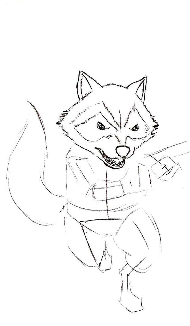"""Как нарисовать Енота """"Ракета"""" из """"Стражей Галактики ..."""