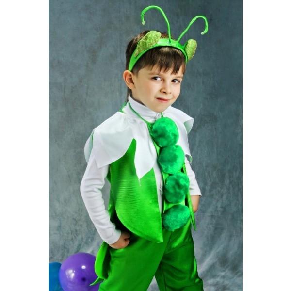 Зеленый костюм для ребенка своими руками