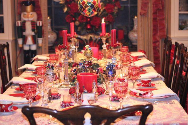 Праздничный стол. Новый год