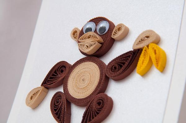 обезьяна квилинг