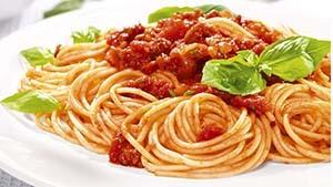 """спагетти с соусом """"Болоньезе"""""""