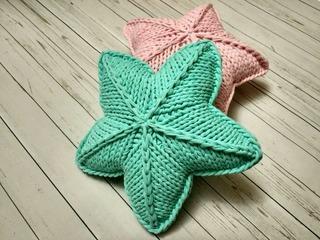 как связать подушку звезду