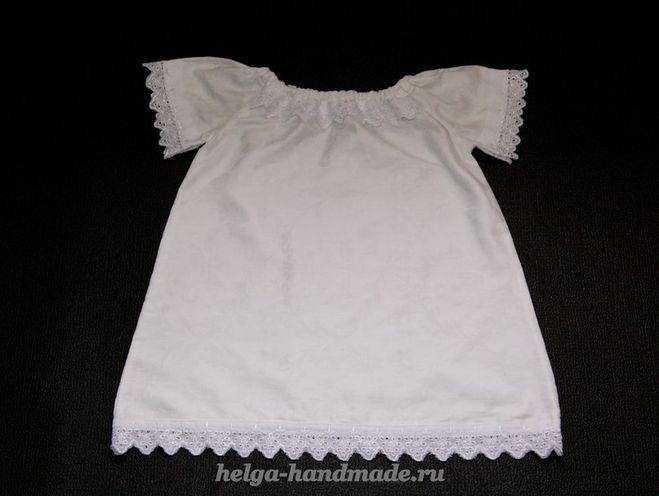 Как украсить платье кружевами своими руками
