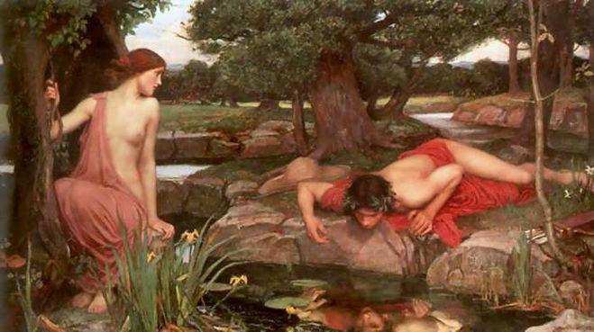 Джон Уильям Уотерхаус. «Эхо и Нарцисс» (1903)