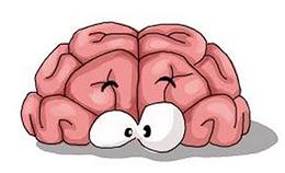 детский рисунок с мозгом