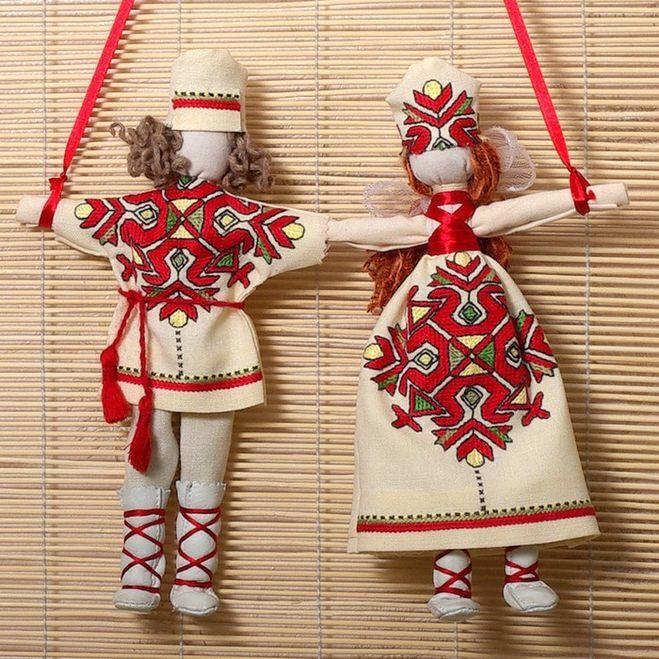 Как сделать славянские куклы обереги своими руками