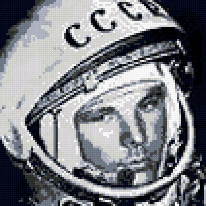 вышивка космос
