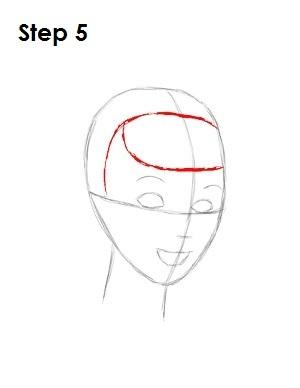Как нарисовать Золушку