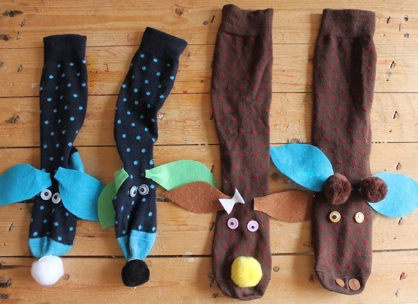 Куклы из носков сделать