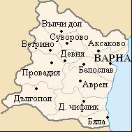 Варна где находиться
