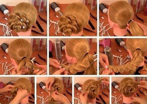 Как сделать 2 красивые косички