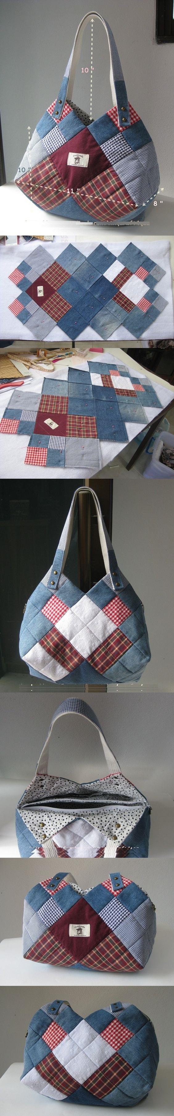 сумочка в технике пэчворк мастер-класс