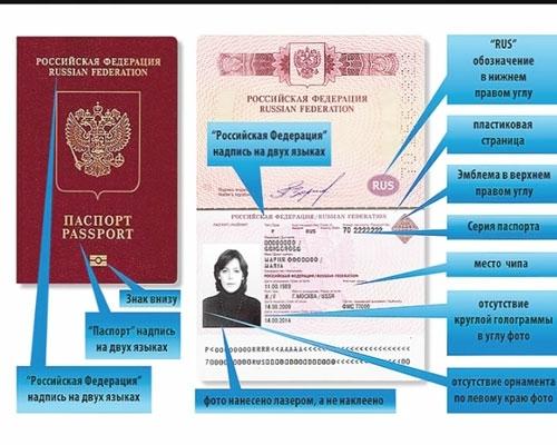 Заверенный нотариусом паспорт