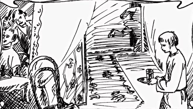 петька на даче как нарисовать