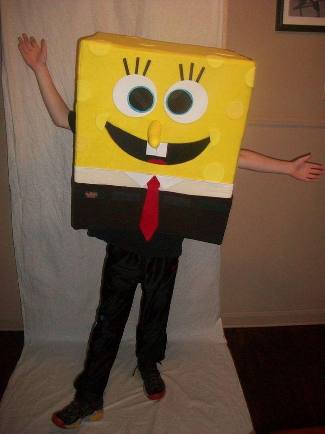 костюм губки