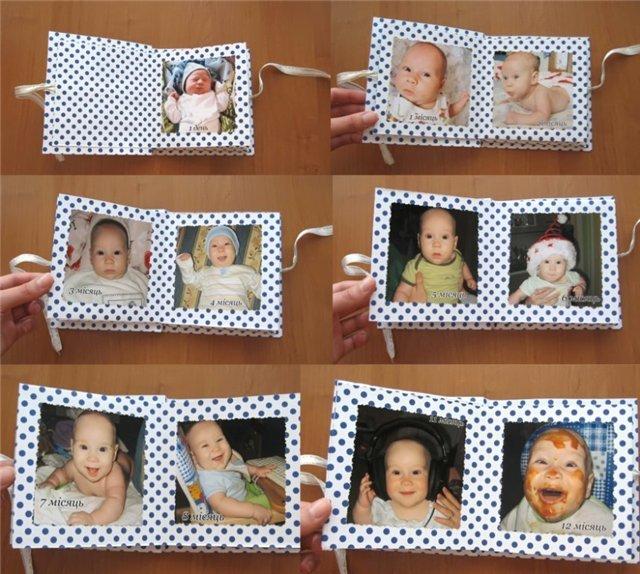 Фото детских альбомов сделанных своими руками