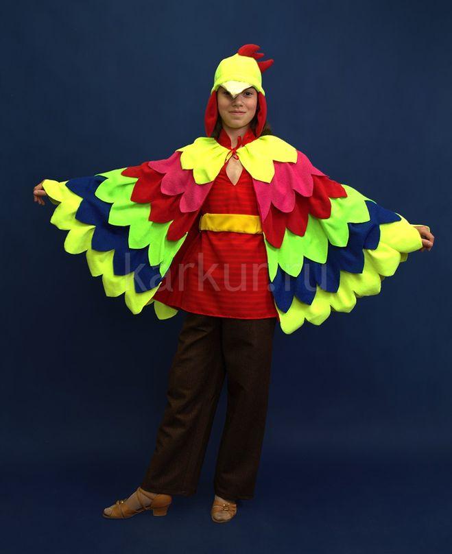 Детский карнавальный костюм Петушок Кукарека 78 лет