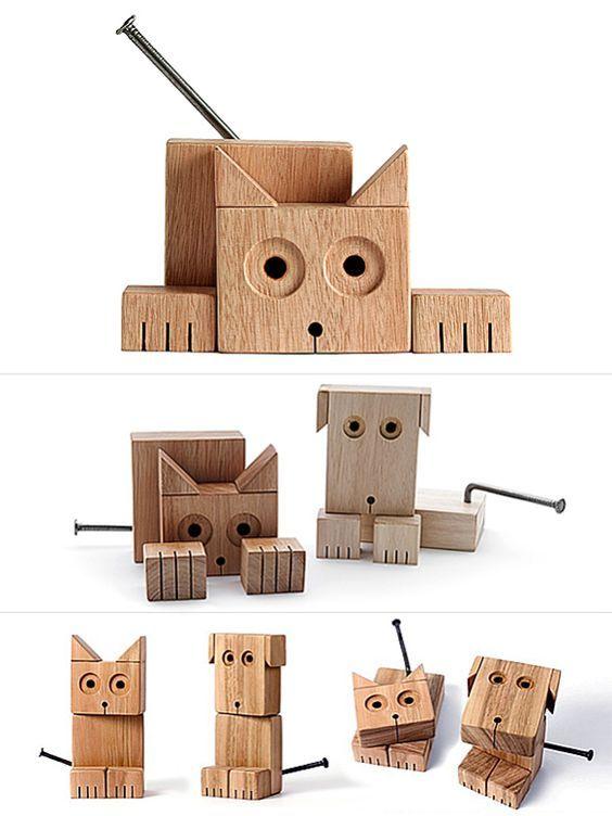 Как из дерева вырезать кота