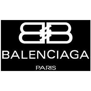 текст при наведении - Balenciaga