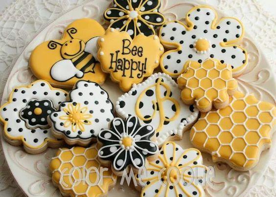 Как сделать пчелок для медового торта