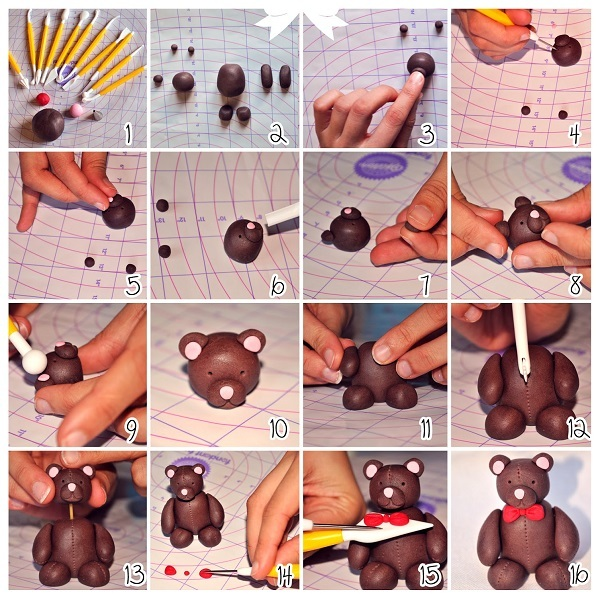 Как сделать фигурки для торта своими руками фото