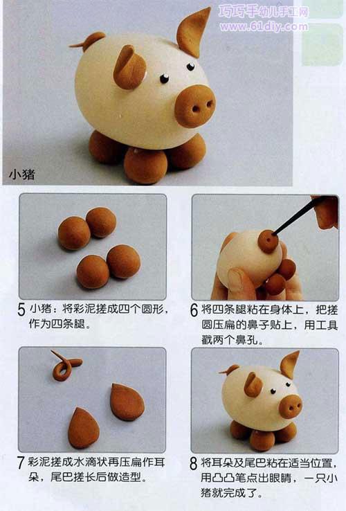 Мастер-класс для детей по лепке из полимерной глины