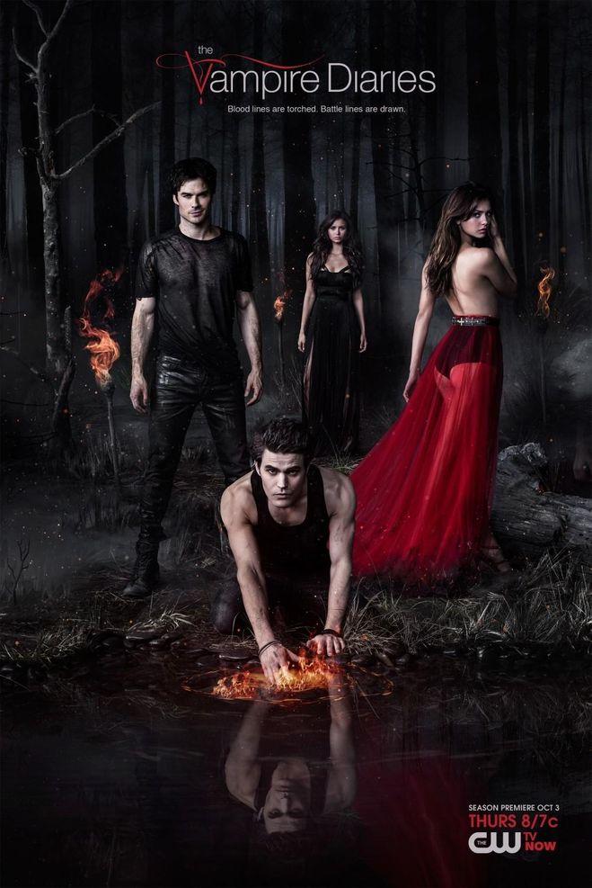 """Сериал """"Дневники вампира"""" 8 сезон. Где смотреть?"""
