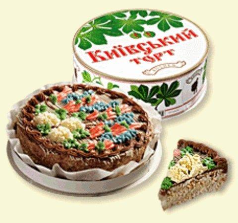 Сколько стоит киевский торт рошен