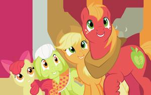 семья эпплджек