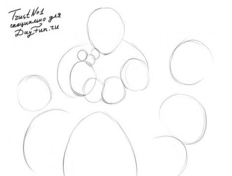 как нарисовать сказку братьев Гримм поэтапно, как нарисовать сказку Золушка, как нарисовать сказку Спящая красавица, как нарисовать сказку Кот в сапогах, как нарисовать сказку Белоснежка и семь гномов