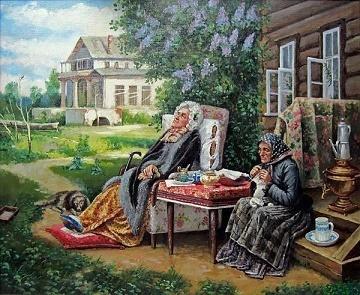 Почему художник назвал картину Все в прошлом (Максимов)?