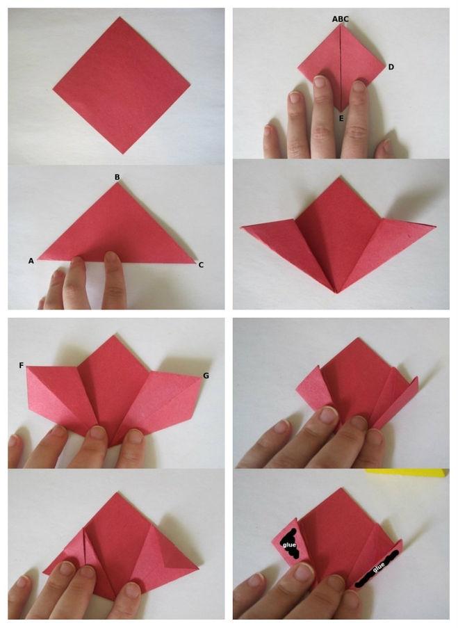 Букет цветов из бумаги своими руками мастер