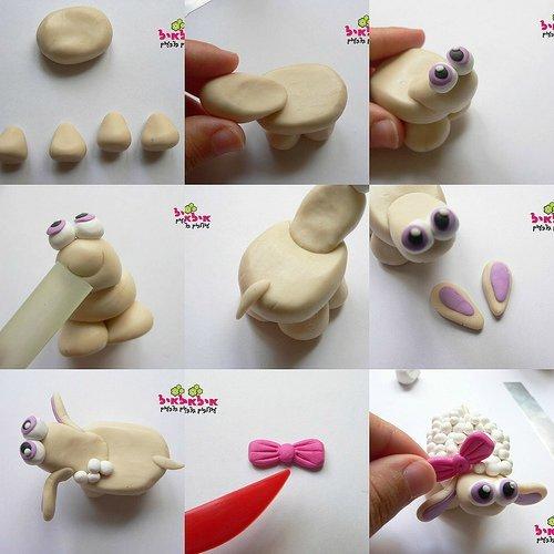 Как сделать барашки из мастики