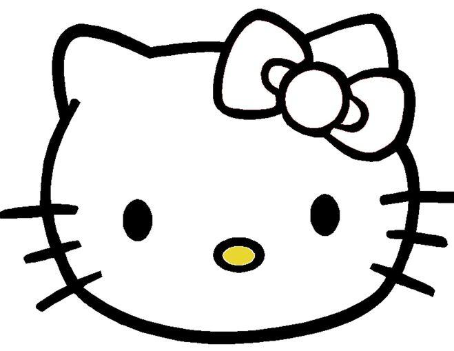 схема выкройка Hello Kitty