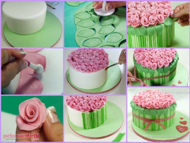 Изготовление и украшение тортов из мастики