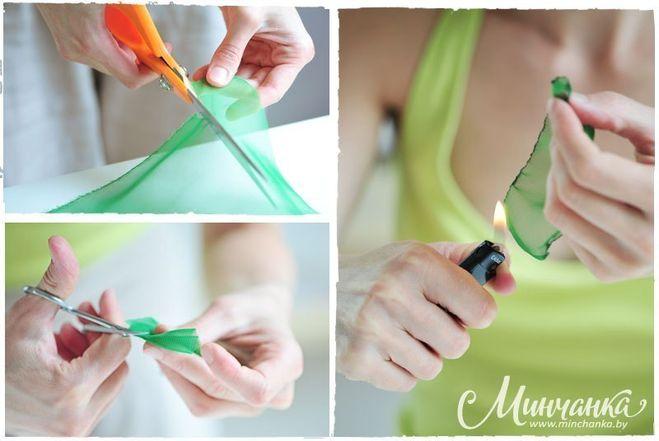 Как сделать ободок руками