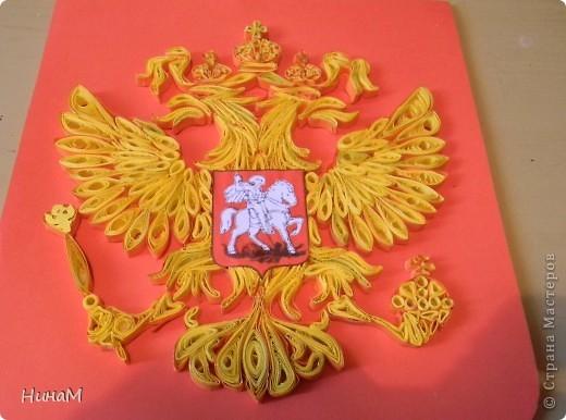 Поделки герб и флаг россии