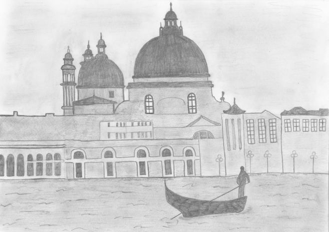 рисунок на тему архитектура