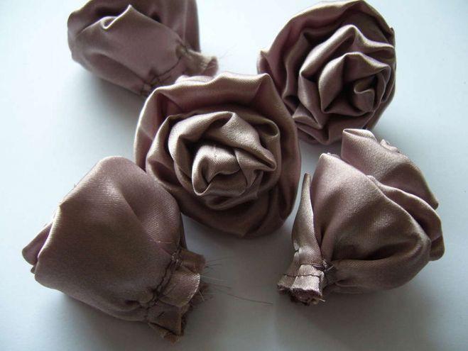 Сделать букет своими руками из ткани