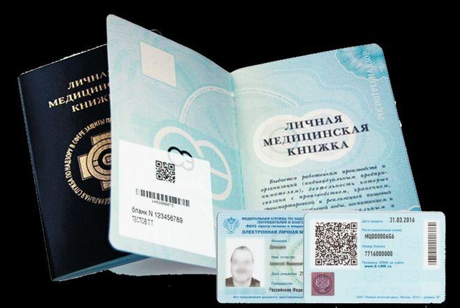 Личная медицинская книжка Звенигород роспотребнадзор