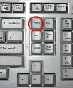 Где на клавиатуре кнопка пуск
