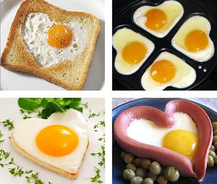 Валентинка на завтрак рецепт