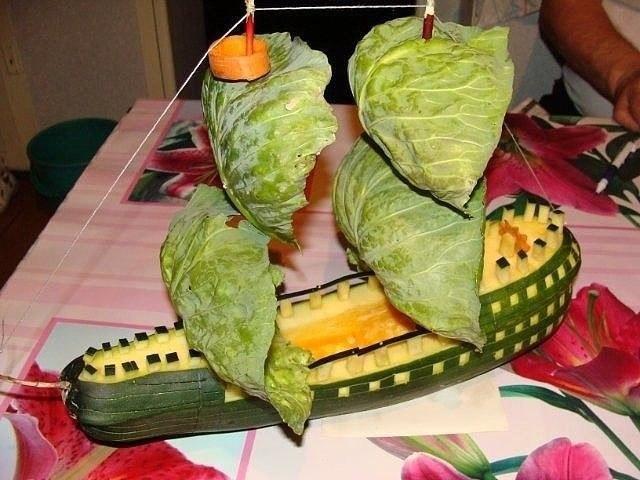 Сделай своими руками из овощей