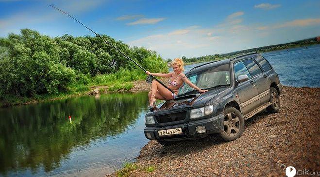 охота рыбалка на внедорожнике