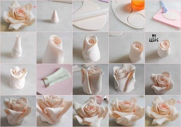 Букет цветов своими руками розы