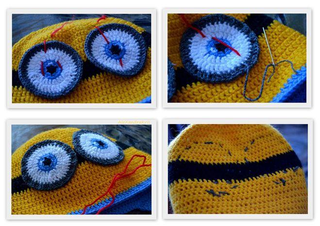 вязание миньонов