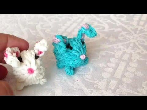 Заяц из резинок
