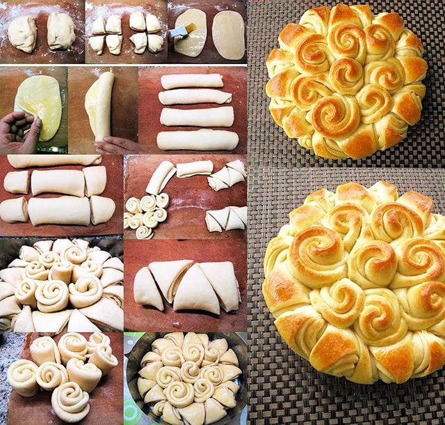 как красиво украсить пирог из дрожжевого теста