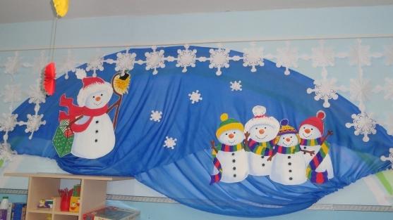 Как украсить комнату и группу в детском саду для нового года